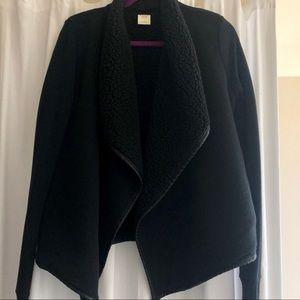 Abercrombie Sherpa Fleece Cardigan jacket
